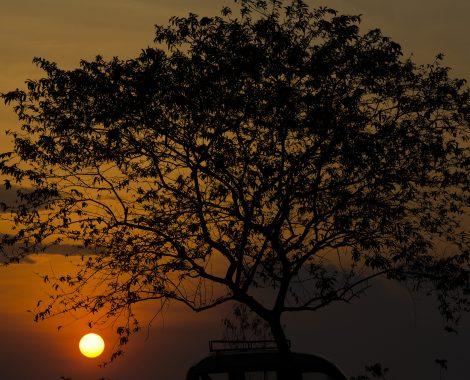 LOS RIOS,ECUADOR 023/10/2013; Los atardeceres en la provincia de los Rios se tiñen de mil colores anaranjados regalando al turísta las mejores estampas del final del día  .( Foto/ Edu León)